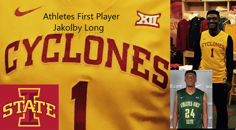 Athletes First Player- Jakolby Long