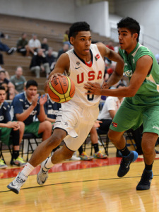 Allonzo Trier USA, Canada Roll on in FIBA Americas U18 Championship