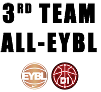 Athletes First player Kristian DooLittle selected for the 2015 all EYBL team.
